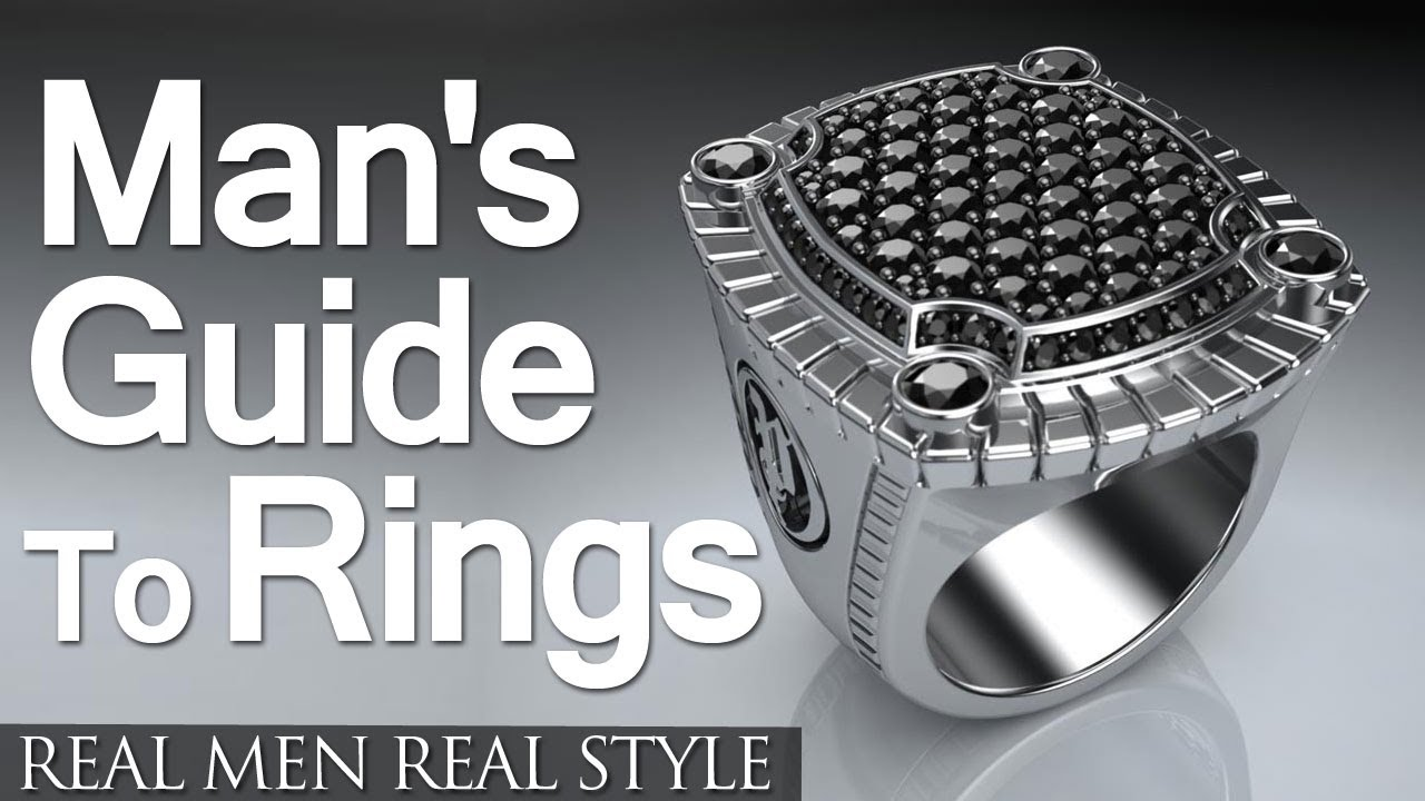 Looks - Fashion mens how to wear rings video