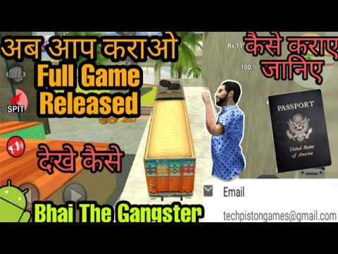 Bhai The Gangster || How Are You Do Released Game || New Update 2.0 || New Missions || New Features