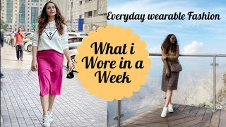 What I Wore this Week  Everyday Basic wearable fashion  By Monika