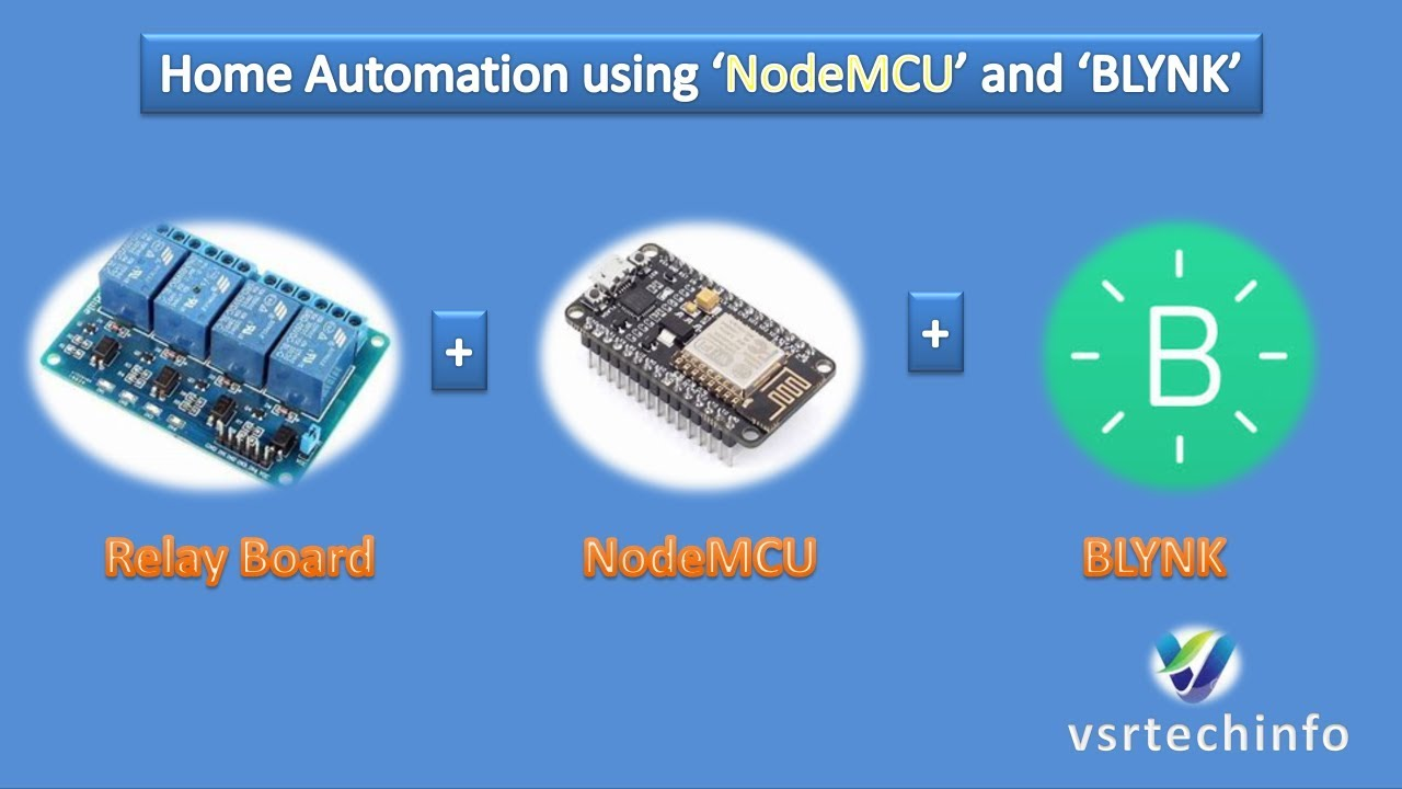 Home Automation using NodeMCU and Blynk | WiFi Home Automation | ESP8266  NodeMCU
