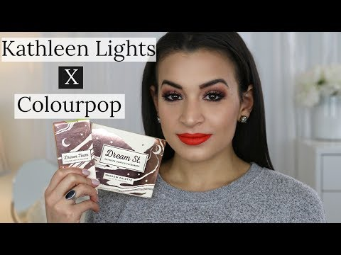 KATHLEENLIGHTS x COLOURPOP DREAM ST. COLLECTION | REVIEW AND TUTORIAL thumbnail