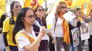 Biểu Tình chống bà Nguyễn Thị Kim Ngân đến Paris (Pháp quốc)