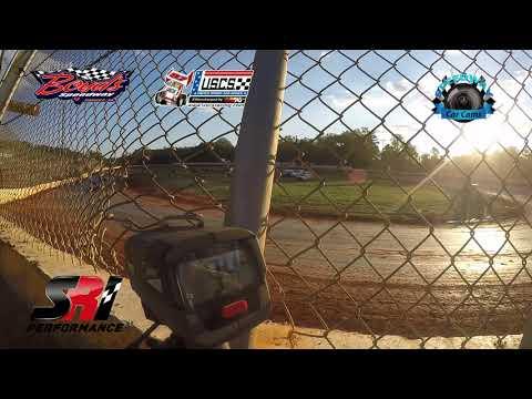 Speed Radar - USCS Sprint Car - 8-18-17 Boyd's Speedway - In Car Camera
