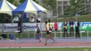 99全中運準決賽大甲高中陳傑400公尺跨欄