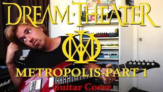 Dream Theater - Metropolis Part 1 Guitar Cover (Edosounds Axe-Fx3 preset demo)