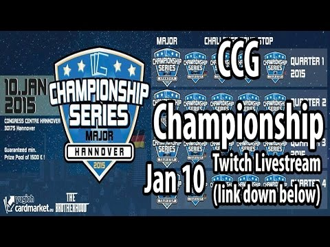Twitch Livestream - The 2015 Complexity Card Gaming (CCG) Championship Series [Europe]