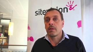 Johan Hedberg från Upplands-Bro kommun, SiteVisiondagarna 2013