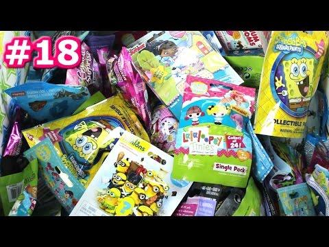 Random Blind Bag Box Episode #18 - PlayMobil, Mystery Mini, Lion Guard, LaLaLoopsy, Minecraft