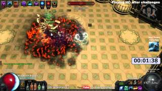 Path oF Exile Ascendancy: Budget Trapper vs Merciless Lab Speed Run