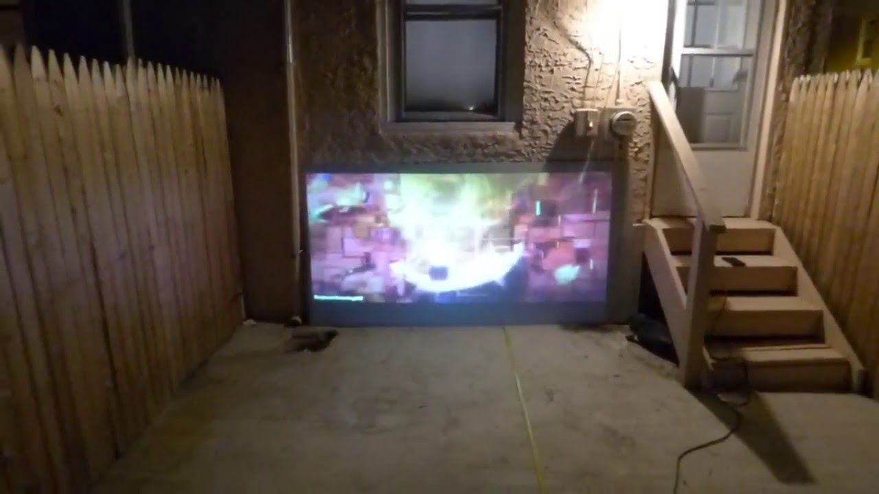 best outdoor theater screens on the market starting size 5 u0027 x 10
