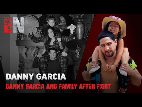 Danny Garcia And Family After Fight