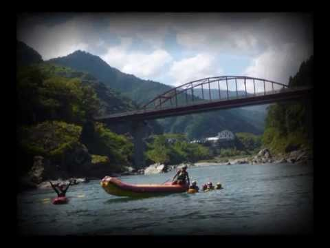 Rafting in yshino river ♪ St Elsewhere / Dave Grusin
