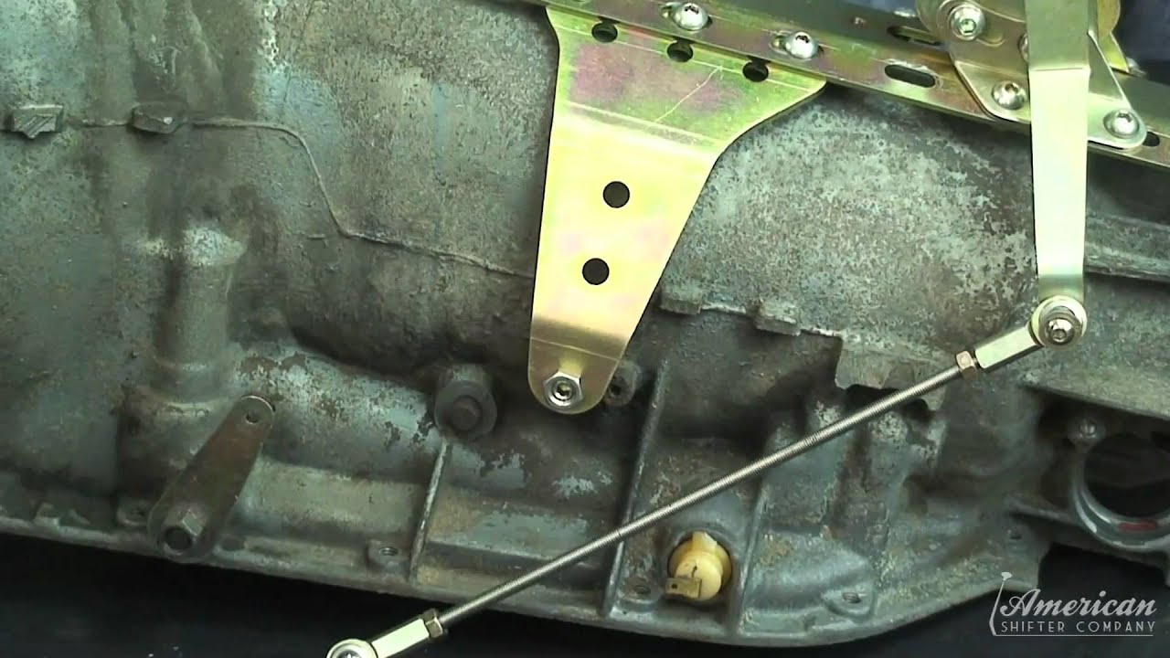 gm 400 th dual action shifter installation video from americangm 400 th dual action shifter installation [ 1280 x 720 Pixel ]