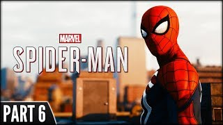Spider-Man (PS4 Pro) - Part 6 [Free Roam, Collecting Backpacks & Stopping Crime]