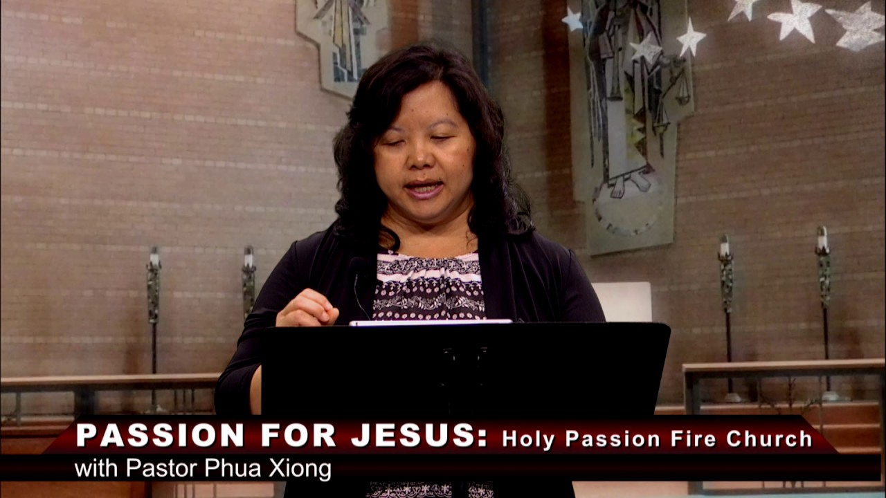 HOLY PASSION FIRE: The creation of human spirit with Pastor Phua Xiong.