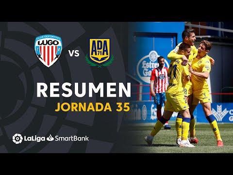 Lugo Alcorcón Goals And Highlights