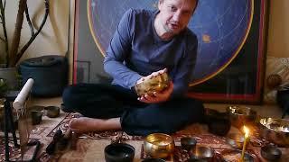 ПОЮЩИЕ ЧАШИ Тибетские чаши 3 набора О звукотерапии Медитация Singing bowls sound therapy поющая чаша