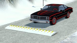 Spike Strip High Speed Crashes #21 – BeamNG Drive
