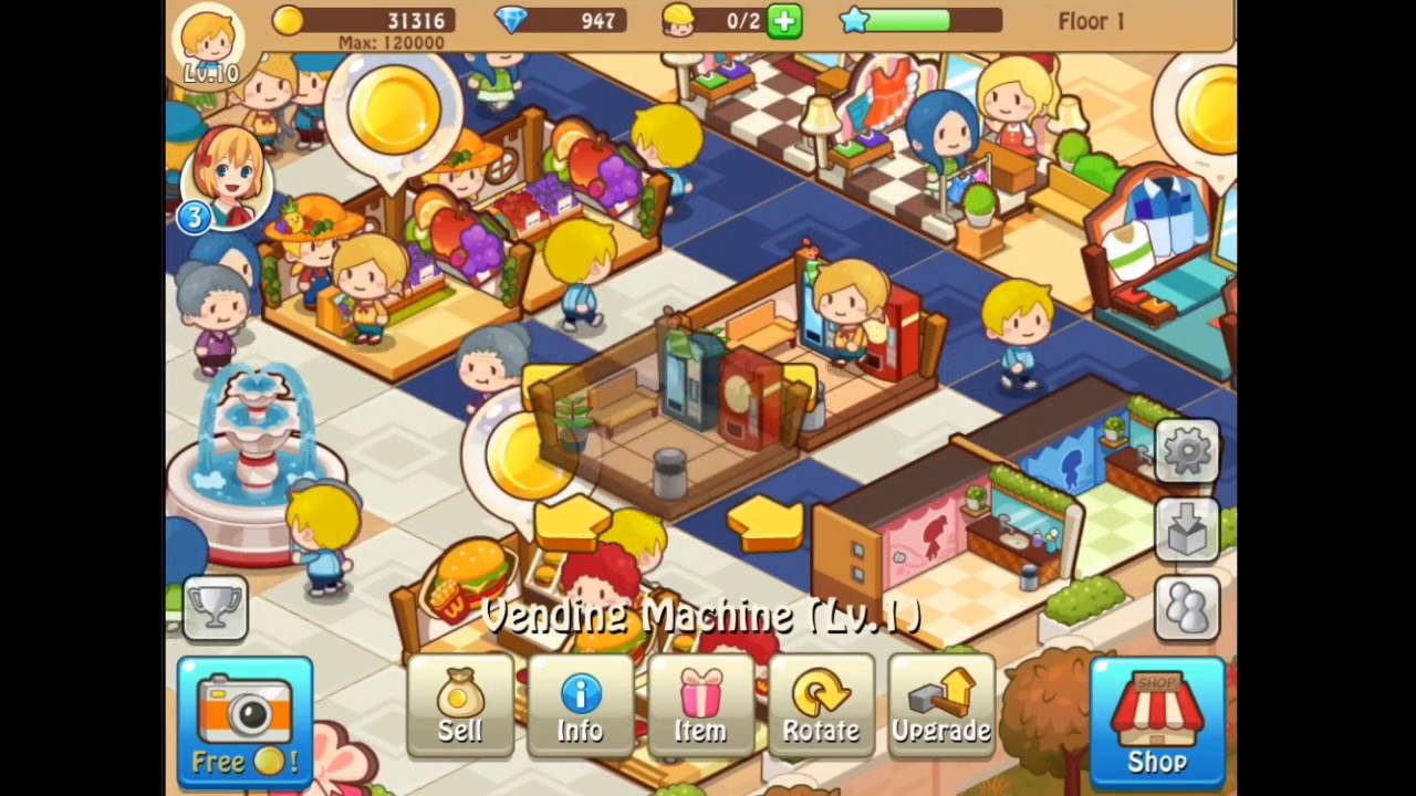 download happy mall story mod apk latest