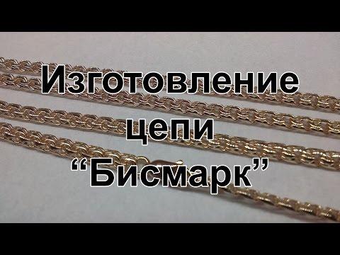 """Изготовление цепи """"Бисмарк"""" (Гарибальди)"""