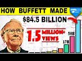 Warren Buffet ne $84 Billions kaise banaye | Warren Buffet's Life Story Summedup