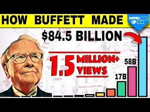 Warren Buffet ne $84 Billions kaise banaye | Warren Buffets Life Story Summedup