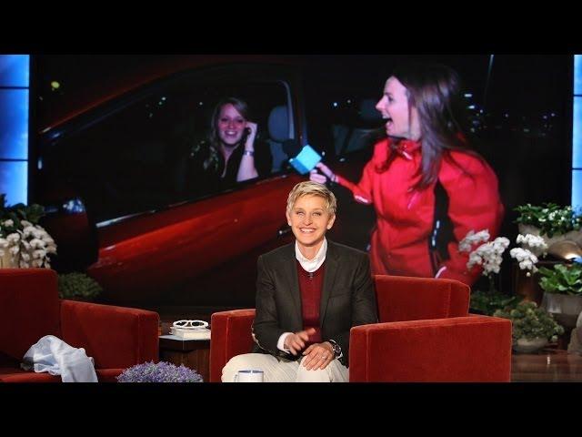 Ellens Favorite Waitress Gets a Car