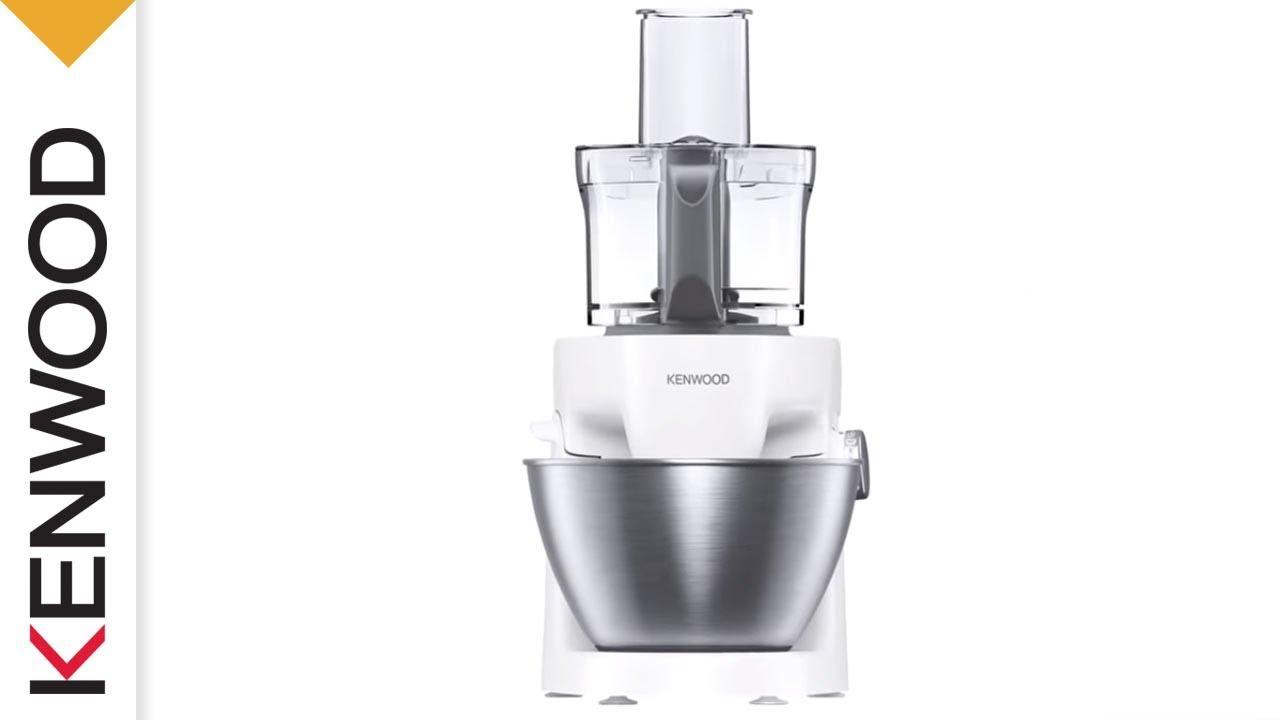 Kenwood Multione Kitchen Machine One Solution To Everything Youtube