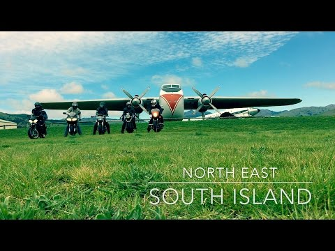 Christchurch to Picton (New Zealand) two day Motorcycle Ride Documentary