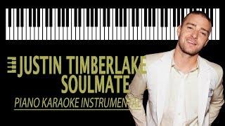 Download Lagu JUSTIN TIMBERLAKE - Soulmate KARAOKE (Piano Instrumental) Mp3