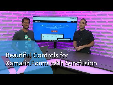 Beautiful Controls for Xamarin Forms with Syncfusion | The