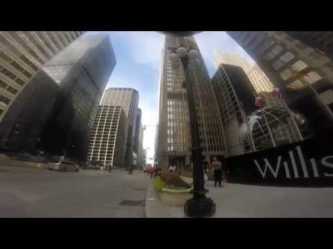 Red Bull Chicago Bike Messenger Challenge-Ride from Sears Tower to Wrigley in under 18min 11secs.