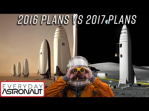 SpaceX's crazy new plan to get to Mars, the Moon AND anywhere on Earth! BFR comparison and summary!