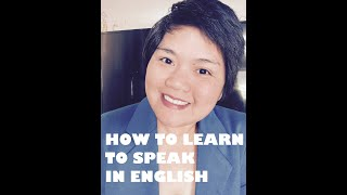 HOW TO LEARN THE ENGLISH LANGUAGE