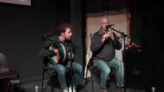 M. Dunne on whistle, Craiceann Bodhrán Festival 2016