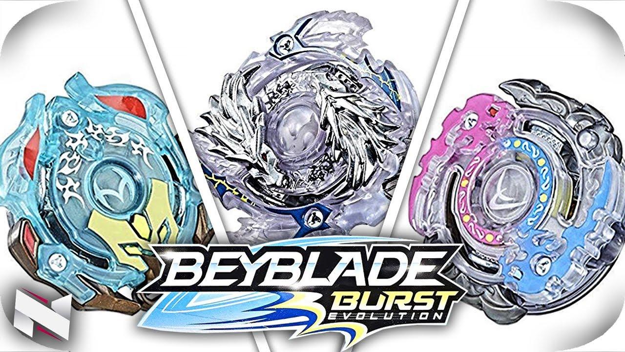 BEYBLADE BURST EVOLUTION Wave 6 And 7!!