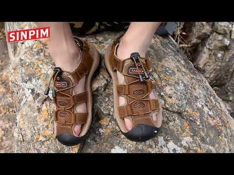 Mens Closed Toe Sandals Sport Hiking Sandal