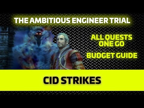 (FFBE-GL) THE  AMBITIOUS ENGINEER - BUDGET - ALL QUESTS ONE GO