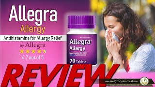 Allegra Adult - 24 Hour Allergy Relief Pills  - REVIEWS YouTube Videos