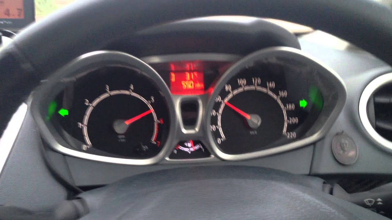 Ford fiesta mk7 1 6 ti vct power shift 6speed 0 150km h