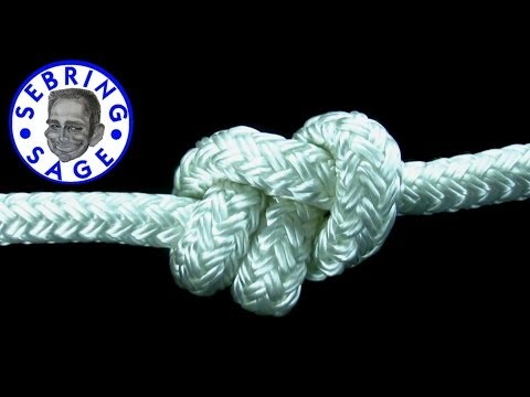 Knot Tying: The Stevedore Knot