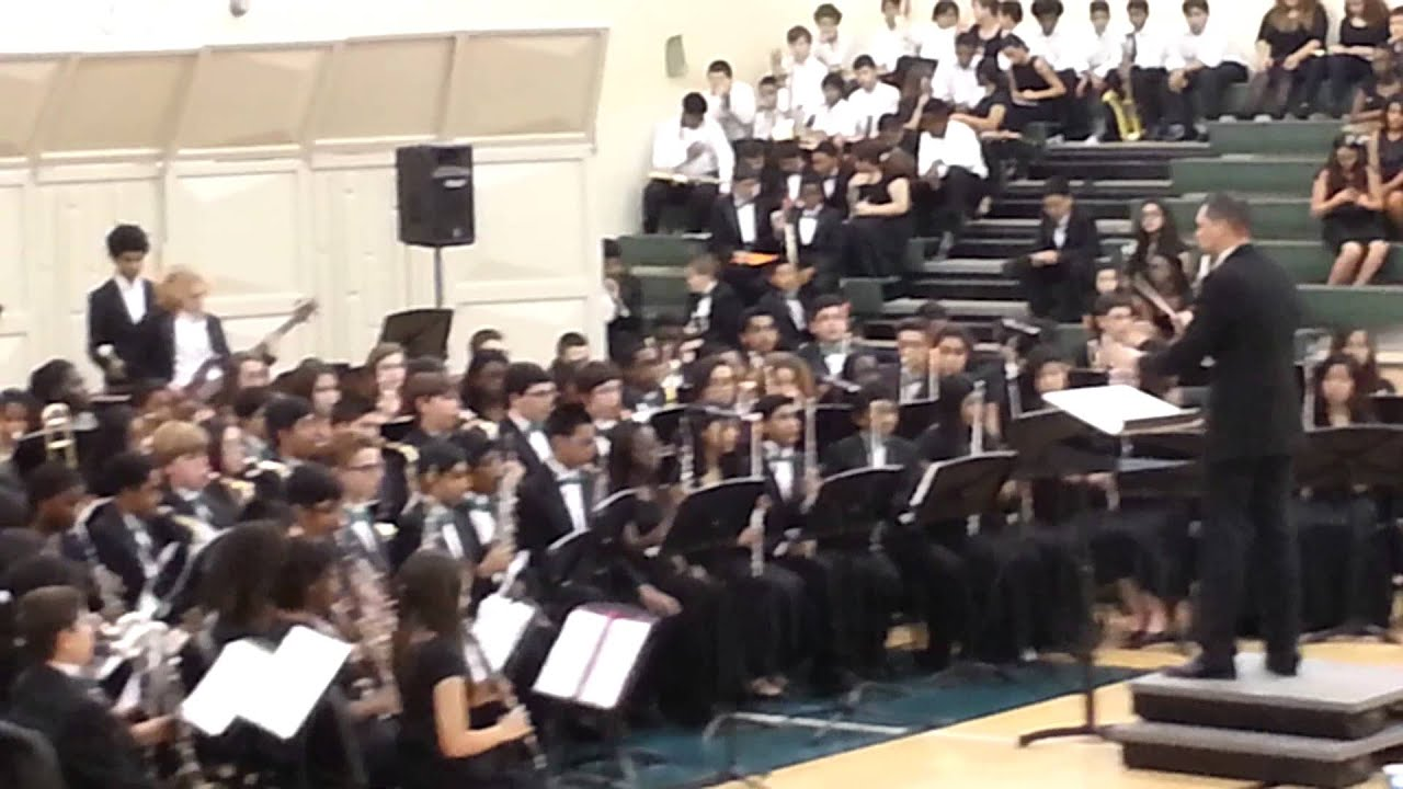 Glades Middle Band - YouTube