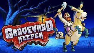 [Graveyard Keeper] Болота, проход к ведьме/чиним мост / Witch(, 2018-08-25T09:45:20.000Z)