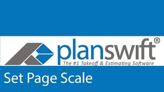 How to set a page scale