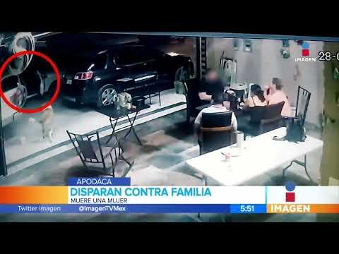 Atacan a balazos a una familia en el municipio de Apodaca, Nuevo León   Noticias con Francisco Zea