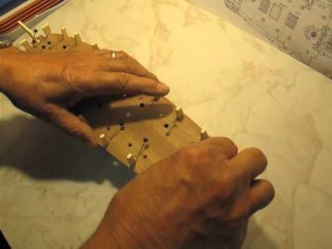 Video guida per costruire un modello di veliero fissaggio for Piani di coperta autoportanti