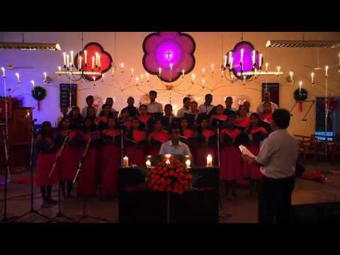 JESUS OH WHAT A WONDERFUL CHILD/CHRISTMAS SONG/CANDLE LIGHT SERVICE 2017. - YouTube