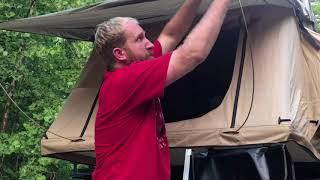 Smittybilt roof top tent honest review