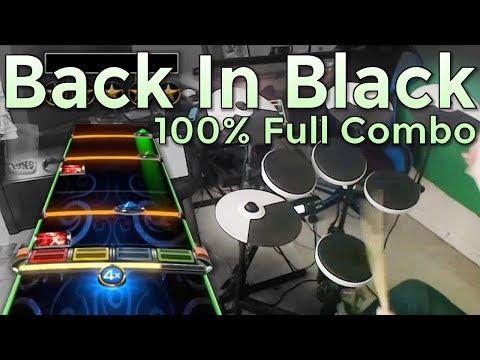 AC/DC - Back in Black (Live) 100% FC (Expert Pro Drums RB4)
