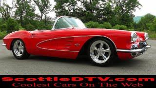 1961 Chevrolet Corvette Steve Holcomb Pro Auto Custom Interiors